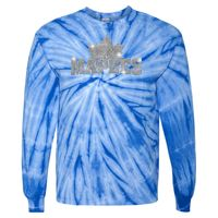 240CY Adult Cyclone Vat-Dyed Pinwheel Long Sleeve T-Shirt Thumbnail